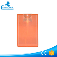 20ml frost credit card perfume spray bottle for perfume
