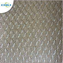 Glitter Chunky Fabric For Shoe Upper Pattern Design Material Pu Leather