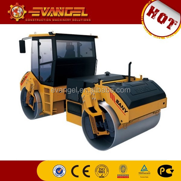 what is a road roller Sany brand road roller STR100C-6 road roller game