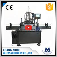 Micmachinery anti-explosion MIC-L40 automatic nail polish bottle filling capping machine
