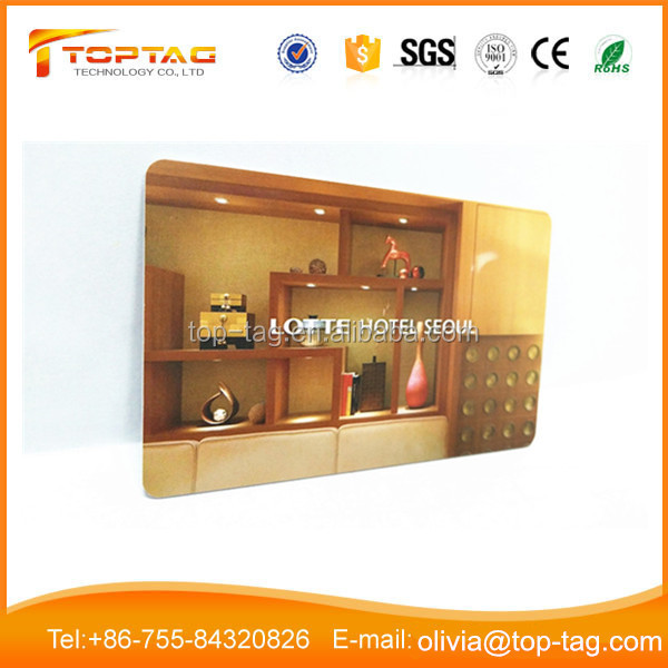 Door Lock 125 KHZ RFID T5577 Programmable Hotel Key Card