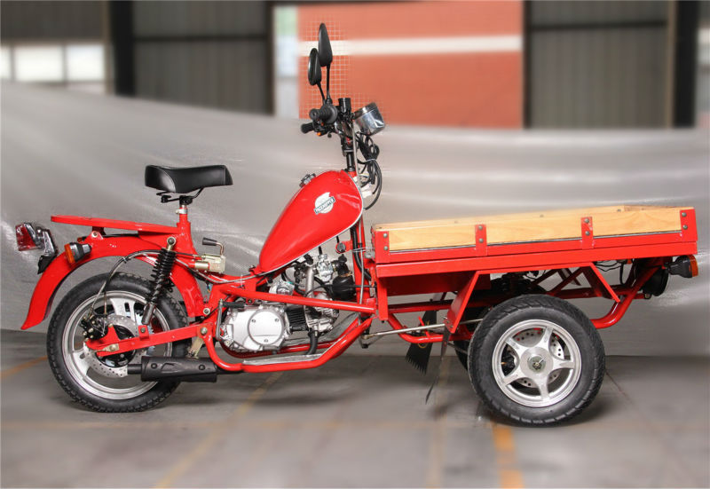Hot selling Non enclosed 3 Wheel Motorcycle/ Cargo 3 Wheel Motorcycle