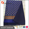 70 x180 Royal Blue Pattern Printing Double Sided Silk Scarves Wholesale Pashmina Shawl