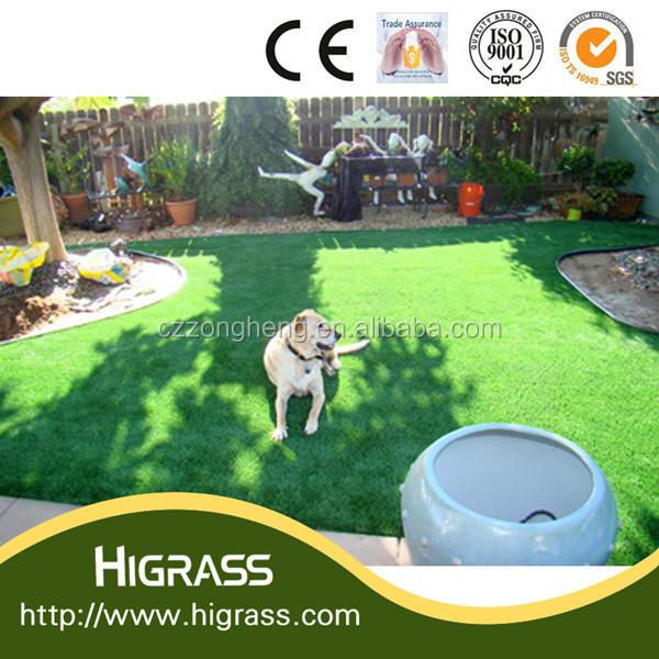 Natural Soft Feeling Garden Landscaping Artificial Grass
