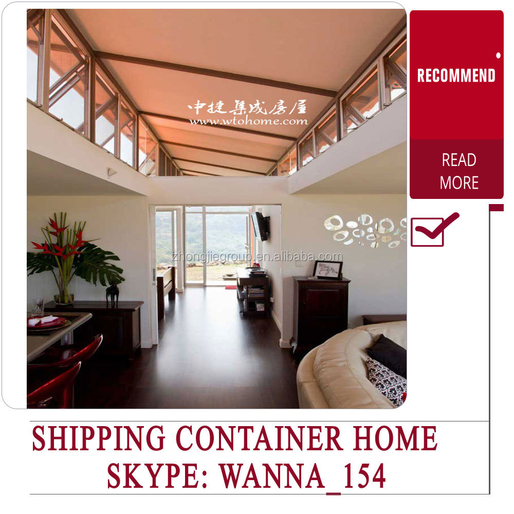 40ft container home/shipping container homes for sale used/luxury prefab homes
