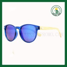 100% handmade Blue frame PS 50094 natural bambool legs fashion sunglasses