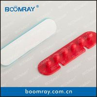 Ningbo Boomray factory hot sale PP multipurpose electronic colorful cable clips tie wire winder pearl in shell gift