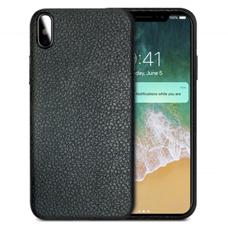 Shenzhen Alibaba online store leather pattern soft TPU 360 mobile phone case covers for iphone X