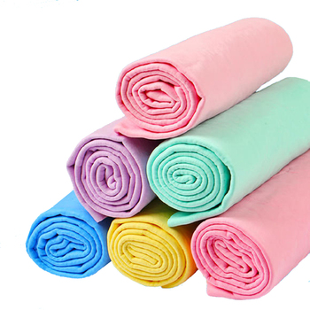 wholesale super soft shammy bath towel