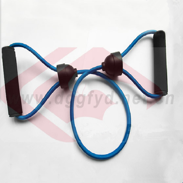 Yoga latex rubber bands New Resistance Bands Tube Workout Exercise loop bands pilates equipment