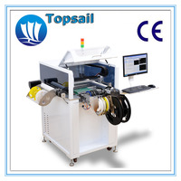 TP400Plus high accuracy PCBA assembly production line with computer
