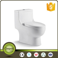 Hot Sale Siphonic Close-coupled Toilet Sanitary Ware WC Bathroom Design
