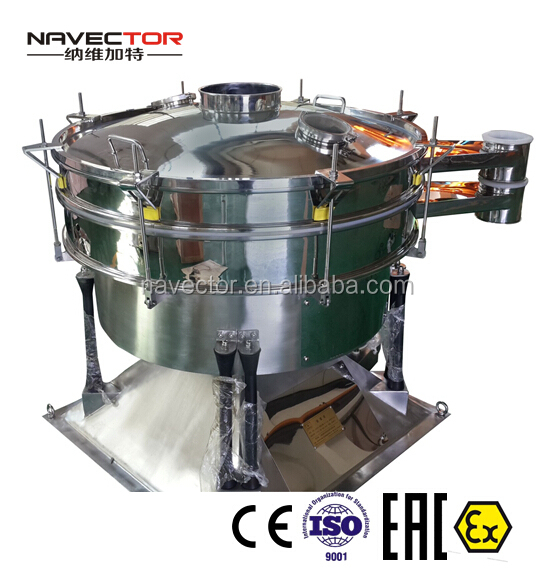 Rotary Vibration Sieve Machine for Fodder Powders