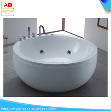 AD-0942 Hot Round Tub Small Size Whirlpool Massage Bathtub Jakuzzy Function Acrylic Bath Tubs