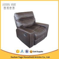 Simple design sofa furniture cleopatra style sleeper recliner sofa
