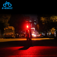 INBIKE MTB Safety Warning Bright Waterproof Tail Bicycle Light