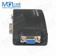 BNC AV / S S video to VGA TV Signal Converter Adapter S-video to VGA Switch Conversion Digital Box Support 1080P