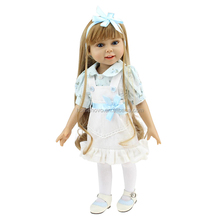 China Factory Wholesale Lifelike Alive Silicone Vinyl 18 Inch Reborn Girls Baby Dolls for Sale