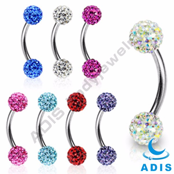 Cheap body piercing fashion eyebrow rings jewelry