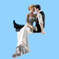 Bride And Groom Figurine Wedding Cake Toppers Wholesale Wedding Favor
