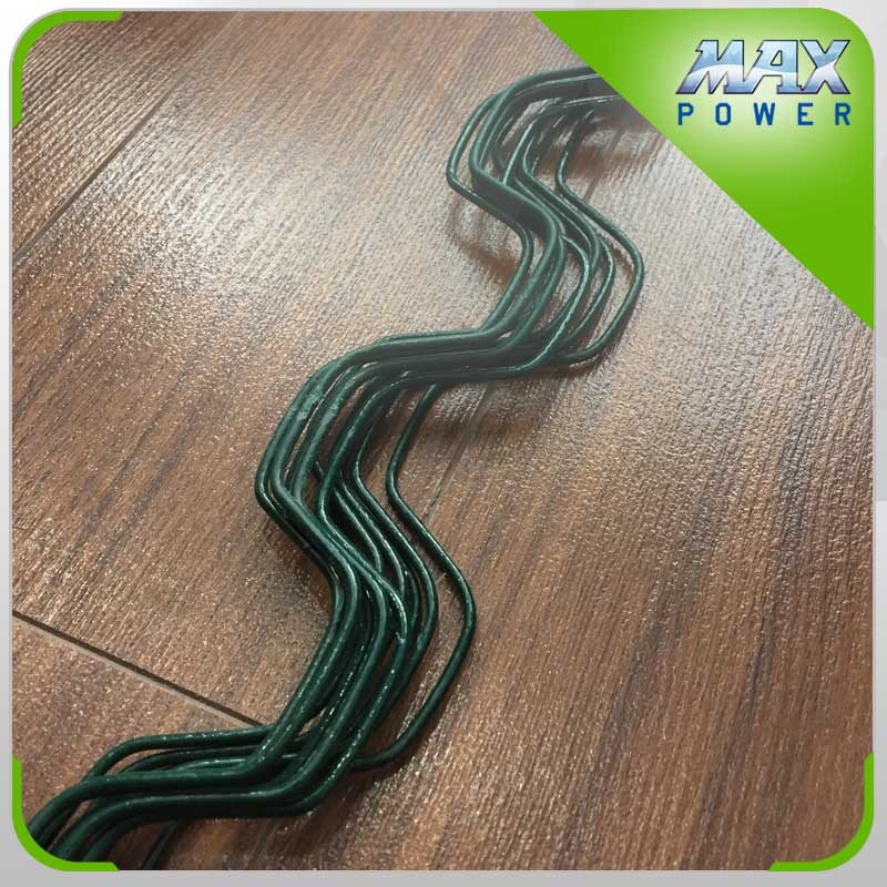 New design greenhouse film lock steel spring wire