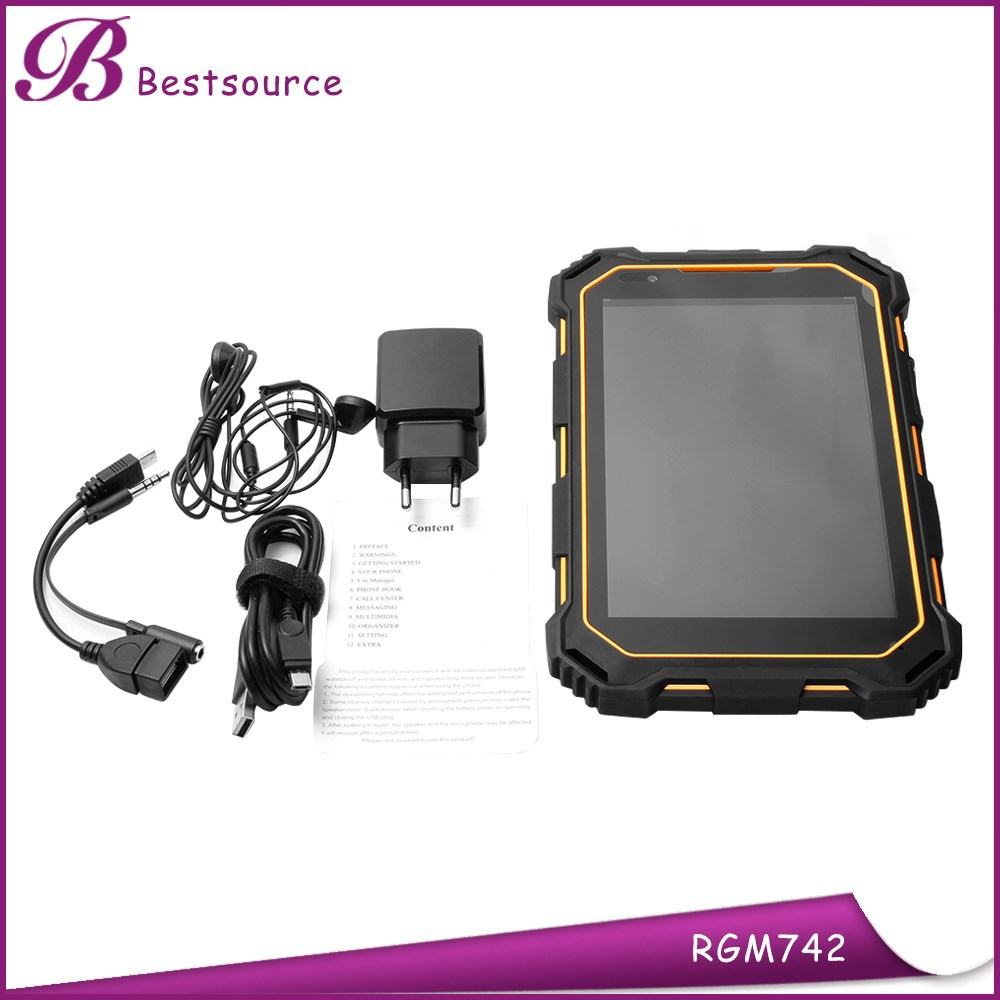7inch waterproof shockproof dustproof android 3G IP67 Rugged industrial tablet pc