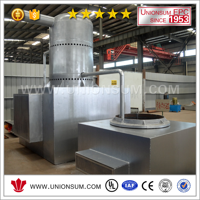 Advance vacuum distillation furnace for Sn, Ti recovery