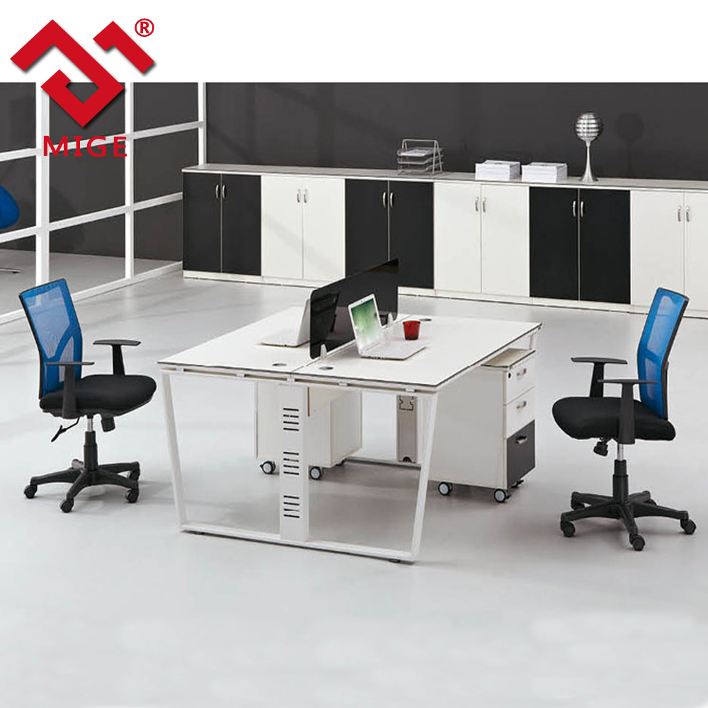 Modern White Open Office Office Low Partition