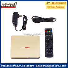 2017 Full HD Satellite Receiver Strong Decoder Tocomfree S989 with IKS SKS for South America