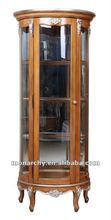 DQ502-51-1 2012 top quality hand carving wine cabinet