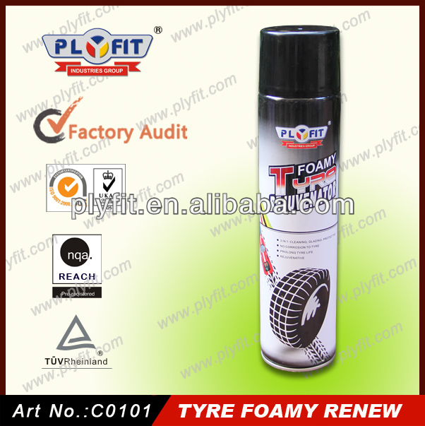 tire foamy cleaner