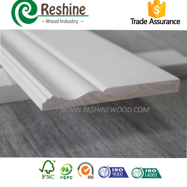 white Window Reveal dealer Finger Jointed Moulding fair skirting board suppliers