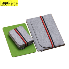 Best Quality Felt Sleeve Laptop Bag For Apple MacBook Air/Pro With Elastic Band