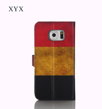 OEM&ODM customized Belgium country flag printing leather case mobile phone flip back cover for nokia lumia 230