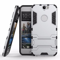 Hybrid Armor Case with Stand Tough Mobile Phone cases Cover Dual Layer TPU Shockproof case For HTC A9 Fundas Coque