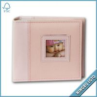 Trade Assurance Factory Price fabric covered photo albums