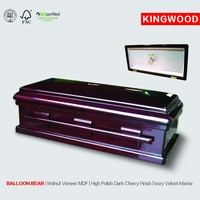 BALLON BEAR wood furniture wholesale pet caskets