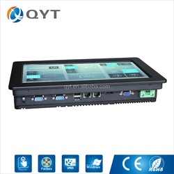 "Hot sale 11.6"" 1366x768 wide embedded industrial poe tablet pc nfc with 2*USB,2*RJ45"