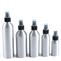 New Products Hot 30ml 50ml 60ml 100ml 120ml 200ml 250ml Refillable Perfume Empty Metal Aluminum Cosmetics Spray Bottle in stock