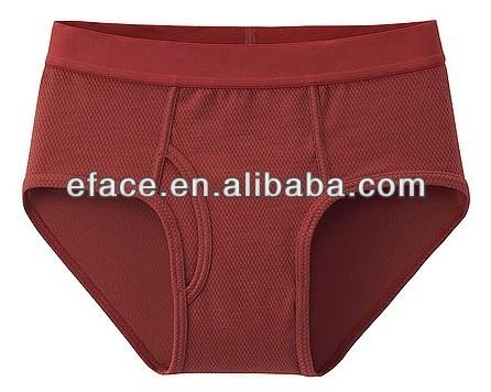 hot sell solid comfortable cotton men underwear boxer briefs