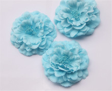 cheap fabric flowers wholesale giant party decoration artificial silk flower wall decoration