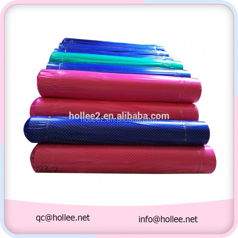 factory direct sale super clear soft roll colored pvc plastic film
