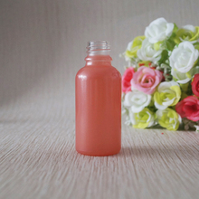 30ml 1oz beauty care red pink glass dropper bottle for cosmetic oil