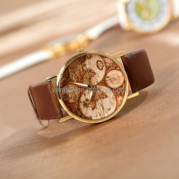 The new personalized world map watch