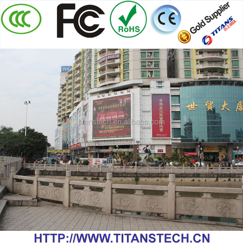 Shape Curved Full Color custom size led screen display billboard