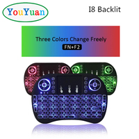 RII MINI i8 backlit keyboard With Touchpad 2.4GHz Wireless for mini pc android tv box