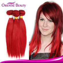 most fashionable new arrival golden supplier creative beauty light red Malaysian hair extension
