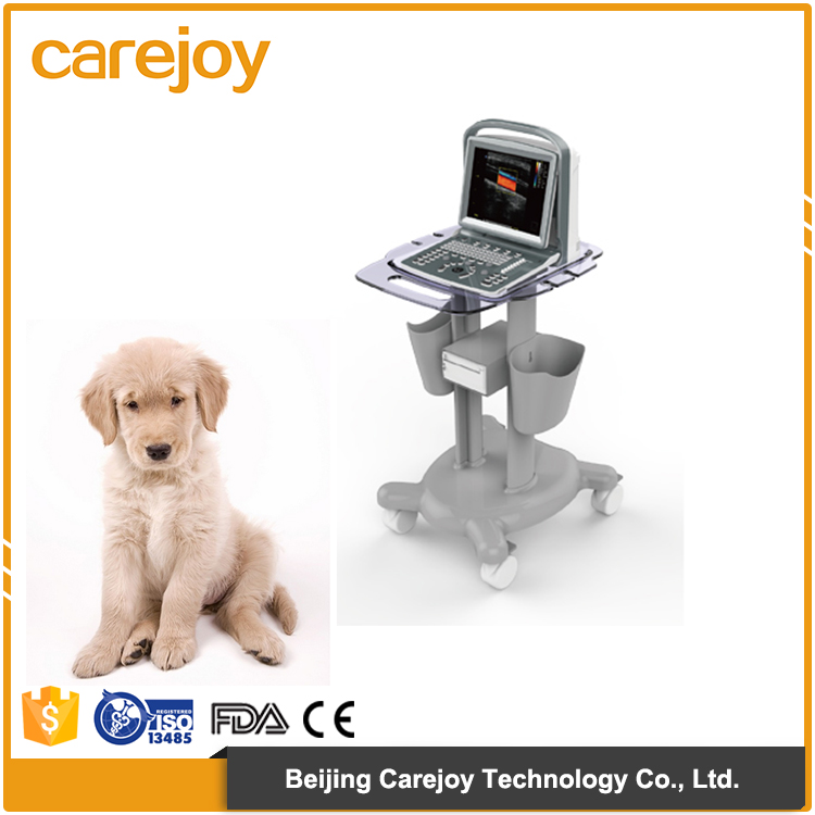 Medical Veterinary equipment trolley Color Doppler ultrasound machine system
