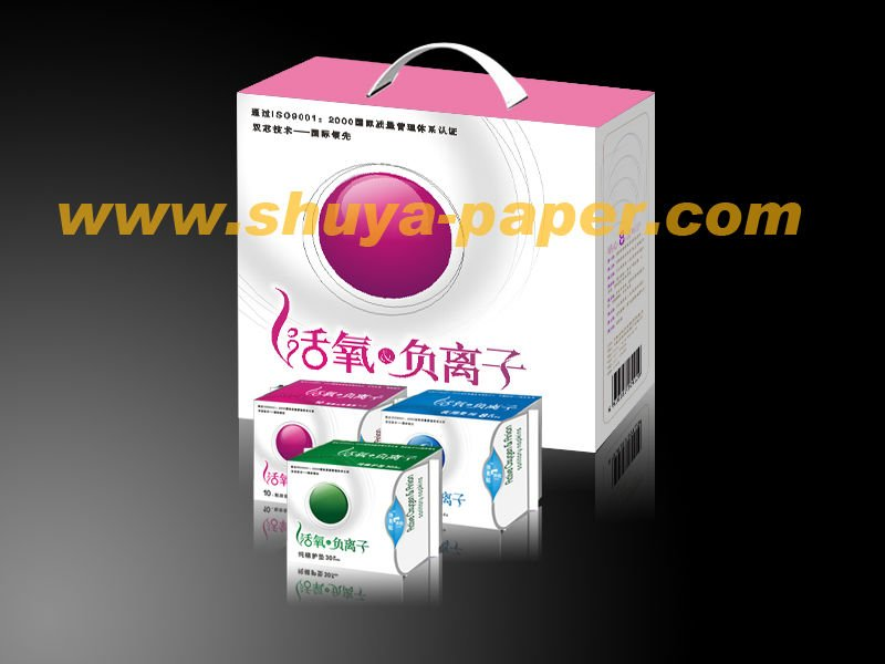 Gift box Super Absorbent Active Oxygen & Anion Sanitary Nakpins
