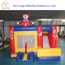 PVC inflatable Clown bouncer /commercial bouncing castle/cheap adult bounce house for sale